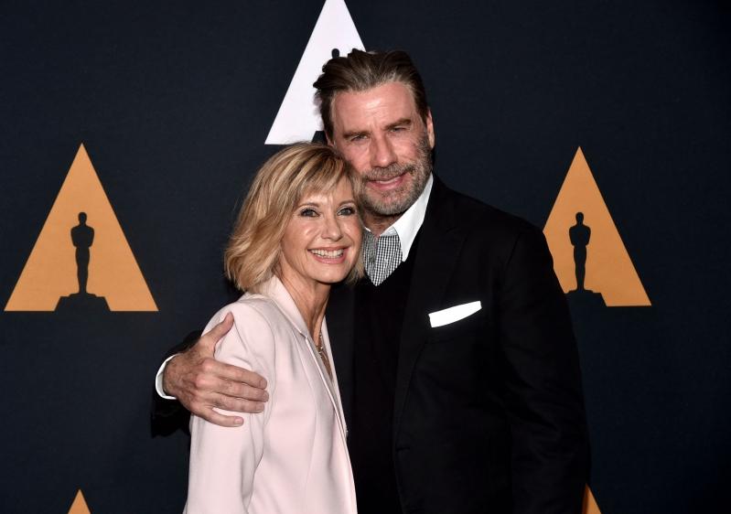 John Travolta y Olivia Newton-John se reencuentran en Los Ángeles