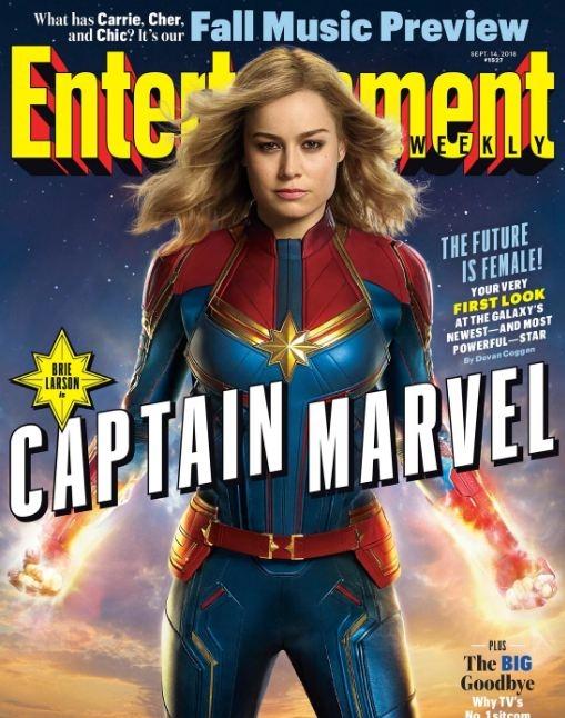 Se han dado a conocer las primeras imágenes de 'Captain Marvel'