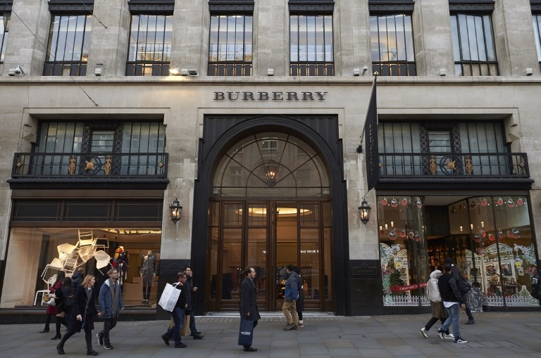 Burberry dejará de destruir las prendas que no venda