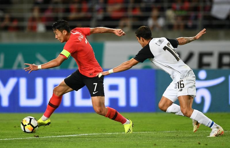 Corea del Sur mete miedo: Con toque rápido y un juego ordenado vence a Costa Rica