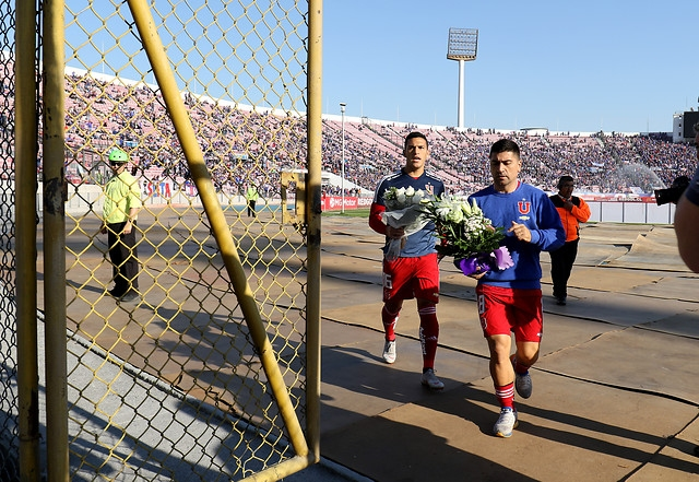 David Pizarro e Isaac Díaz