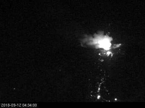 Alerta en Chile: explosión en el complejo volcánico de Chillán