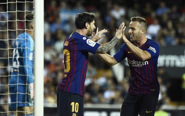 Lionel Messi/Arthur