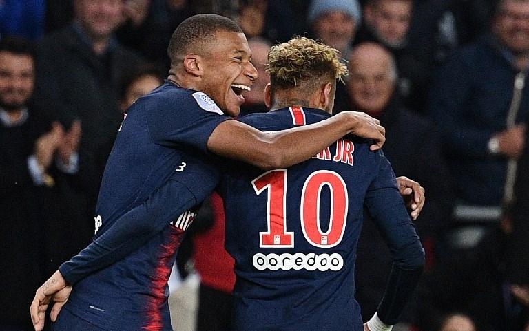 Mbappé/Neymar