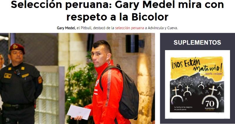 """[FOTOS] """"Enemigos íntimos"""": Así vive la prensa peruana un nuevo amistoso ante La Roja"""
