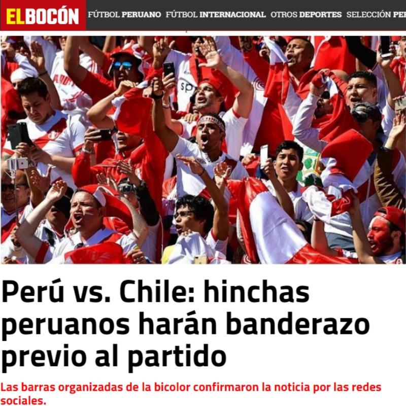 Enemigos íntimos Así Vive Prensa Peruana Amistoso Ante Chile Tele 13
