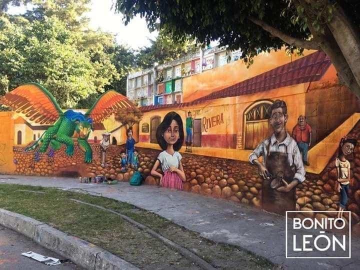 Fotos Adornan Un Cementerio En México Con Murales De Coco Tele 13