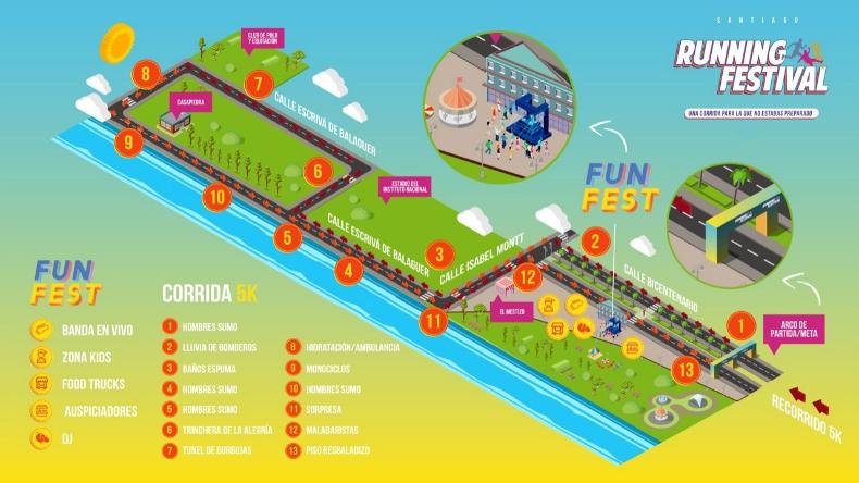 [VIDEO] Running Festival: Llega a Chile el evento para corredores que quieren divertirse