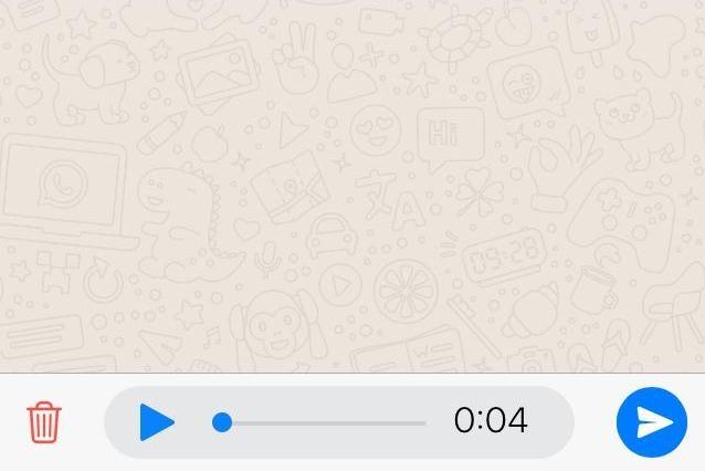 Así puedes escuchar un audio de WhatsApp antes de enviarlo a tu contacto