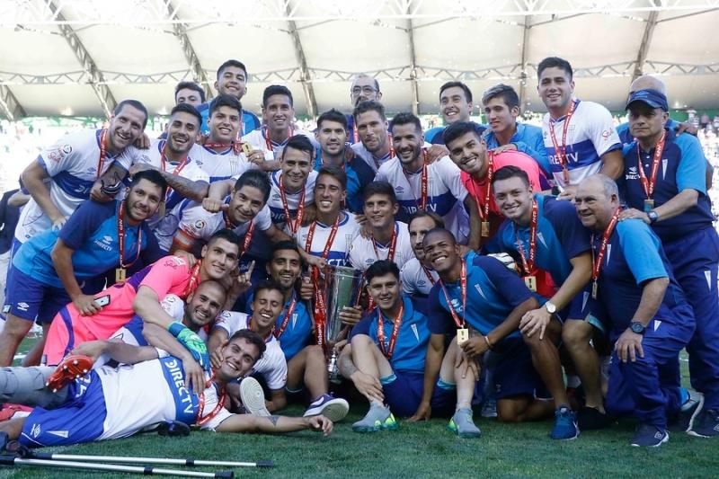 [FOTOS] Las mejores postales de la celebración de Universidad Católica tras nuevo campeonato