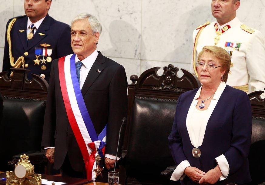 The Economist: Bachelet decepcionó y Piñera agenda Concertación