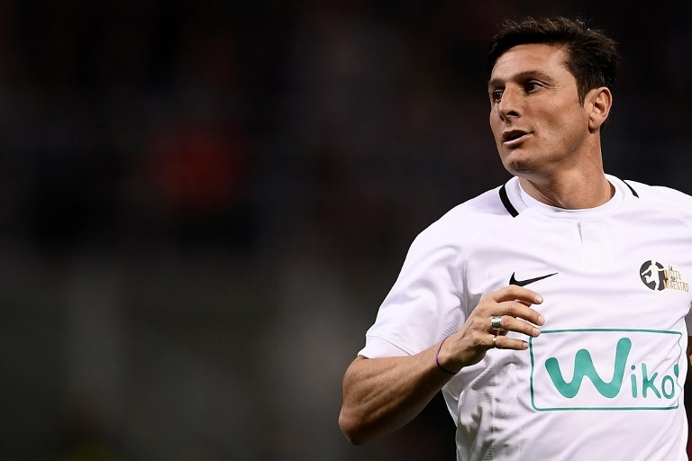 El ex lateral derecho argentino del Inter de Milán, Javier Zanetti, dirá presente junto a otros ex futbolistas.