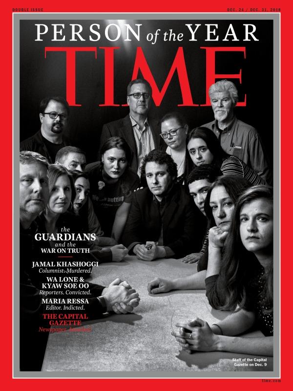"""TIME destaca a Jamal Khashoggi y a otros """"Guardianes de la Verdad"""" como persona del año"""