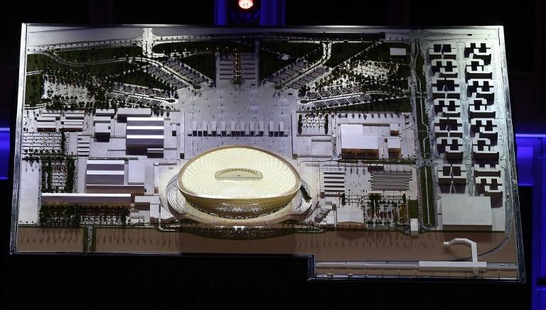 Qatar reveló el diseño del estadio de la final del Mundial 2022