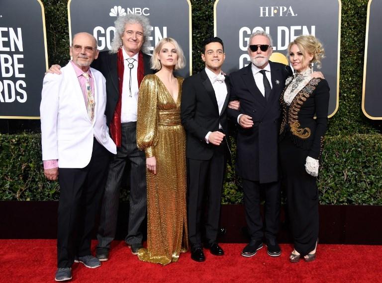 Globos de oro 2019: Rami Malek desfila por la alfombra roja