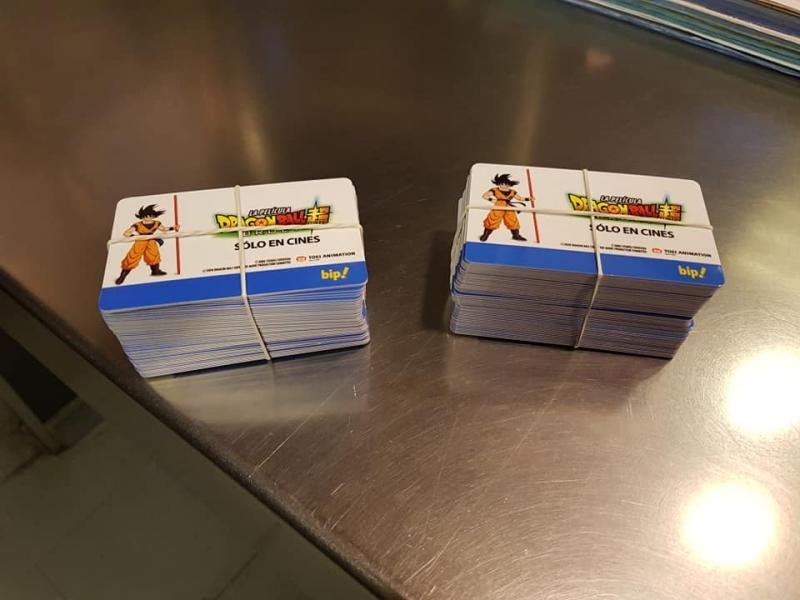 [FOTO] Es oficial: Metro de Santiago pone a la venta tarjetas Bip de Dragon Ball