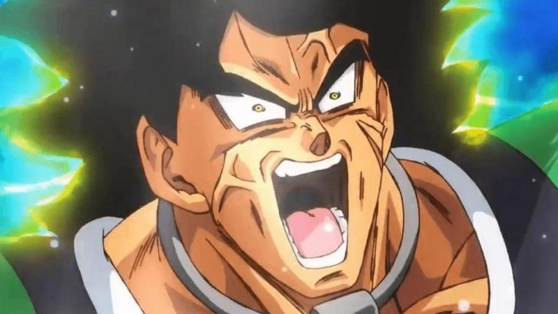 "Broly en ""Dragon Ball Super: Broly"""