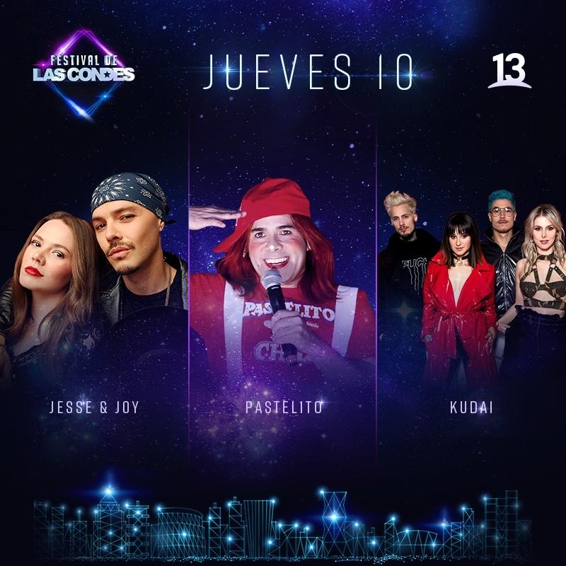 Festival de Las Condes 2019: Programación jueves 10 de enero