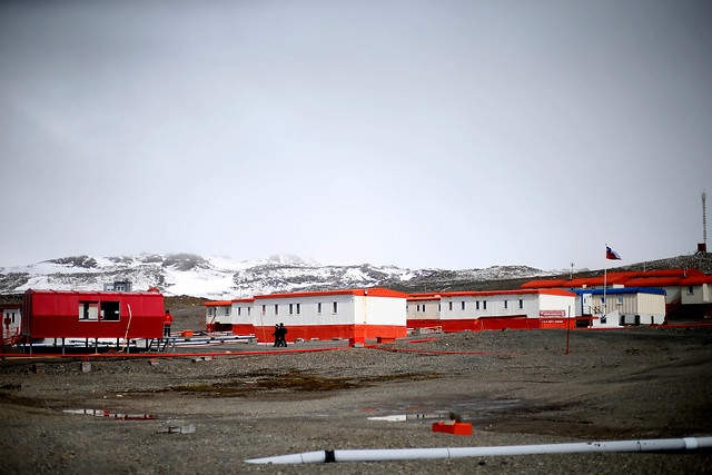 Base chilena en la Antártica