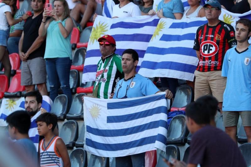 Hinchada uruguaya