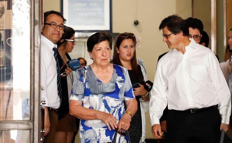 Carmen Frei Ruiz-Tagle acompañó a los abogados a apelar fallo