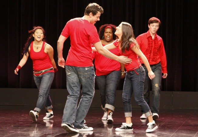 Rachel Berry y Finn Hudson