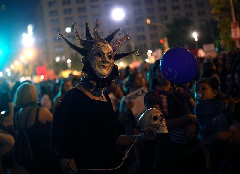 Histórica marcha: los rostros de las protagonistas del #8M en Chile