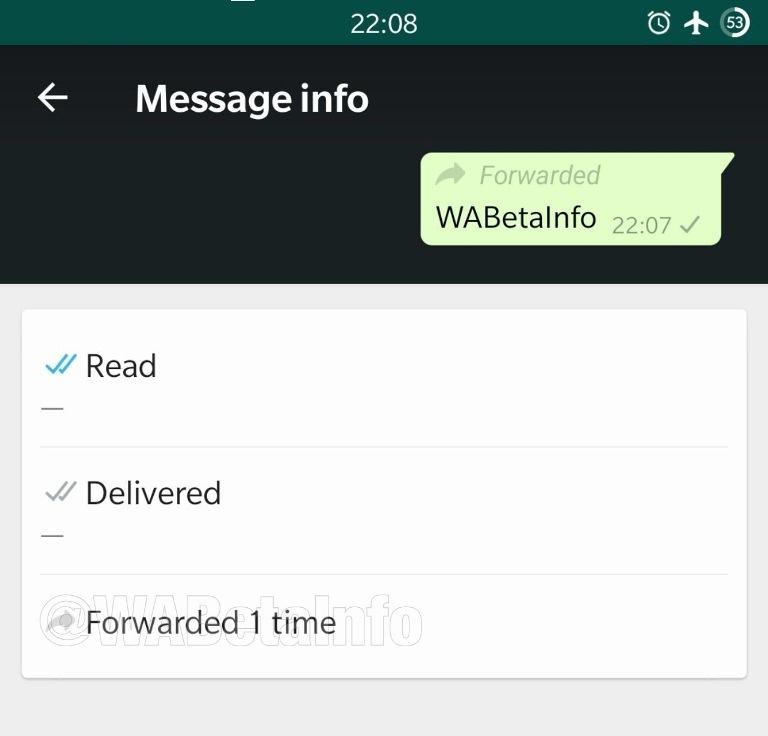 Whatsapp empieza a indicar qué tan viral es un mensaje
