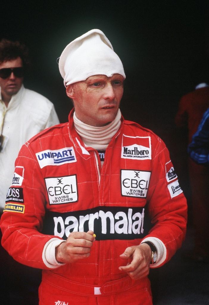 El accidente de Niki Lauda en 1976 que casi le costó la vida