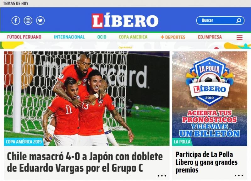 """""""Chile aplastó a Japón y saca chapa"""": Prensa internacional destaca a la selección en el debut"""
