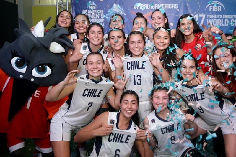 Selección de básquetbol femenina hace historia y clasifica al Mundial Sub 17