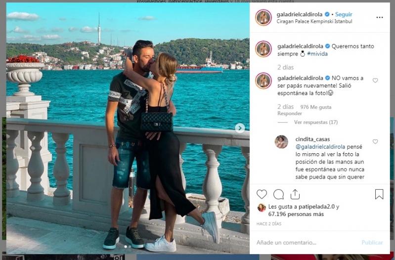 Gala Caldirola Aclaró Dudas De Embarazo Tras Enigmática Foto