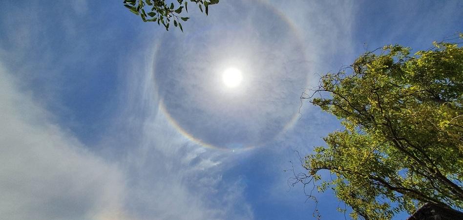 Halo Solar Sorprende A Habitantes De Coquimbo Y Copiapo Tele 13
