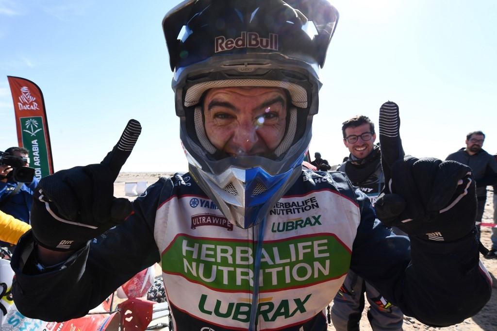 Ignacio Casale logra tercera victoria en el Dakar | Tele 13