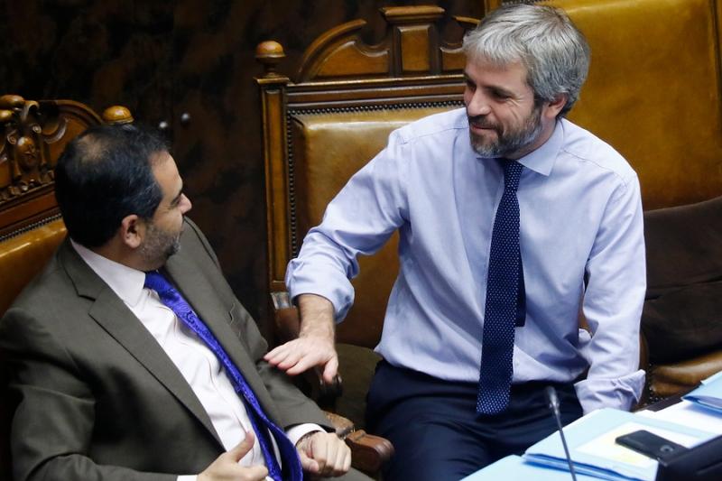 """Presidente del Senado: """"Si Piñera quiere seguir debe aceptar un parlamentarismo de facto"""""""