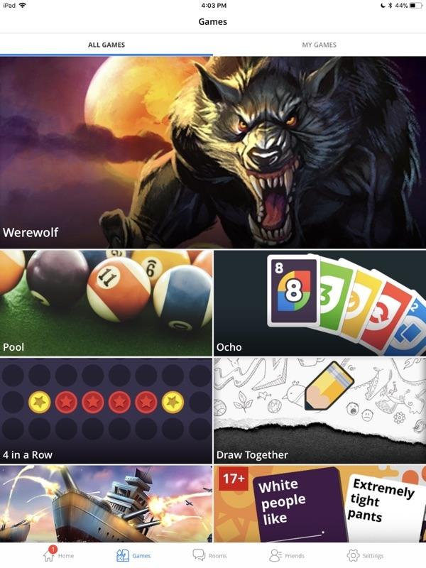 Network blackjack