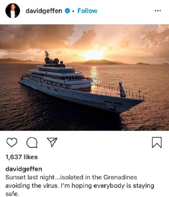 Enojo generó foto de la cuarentena de un millonario en el Caribe ...