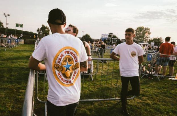 Inglaterra: Sam Fender y primer show con distanciamiento social