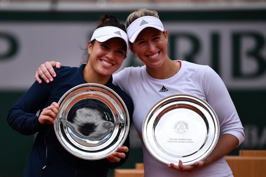 Alexa Guarachi cae en la final del dobles de Roland Garros | Tele 13
