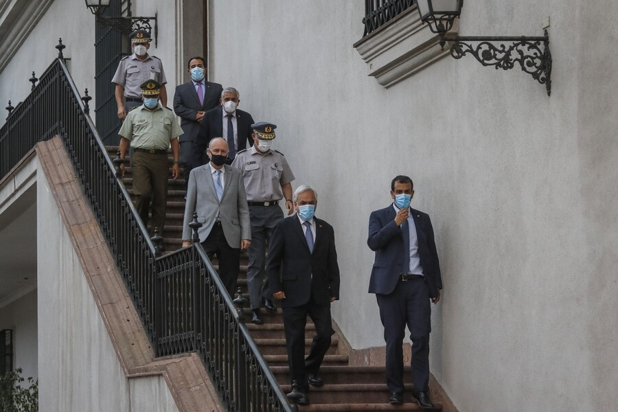 Presidente Piñera por ataques en La Araucanía: