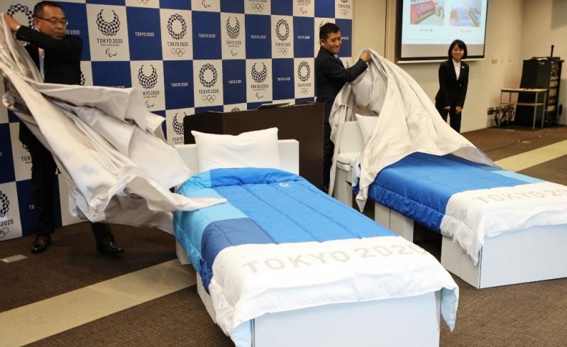 """Así son las camas """"anti sexo"""" que tendrán los deportistas en los Juegos Olímpicos"""