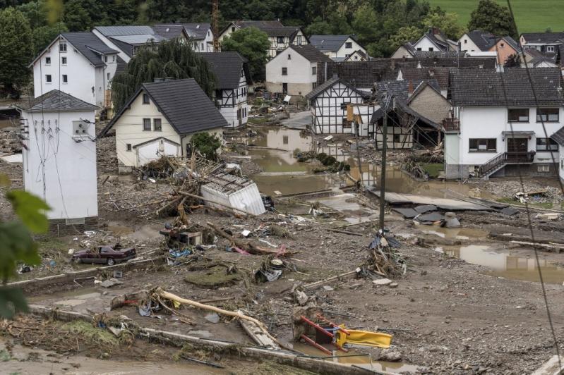 Las inundaciones en Alemania en imágenes: temporal de lluvia ha dejado al menos 42 muertos