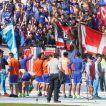 Más de 4 mil hinchas de la U animan banderazo en antesala del Clásico Universitario