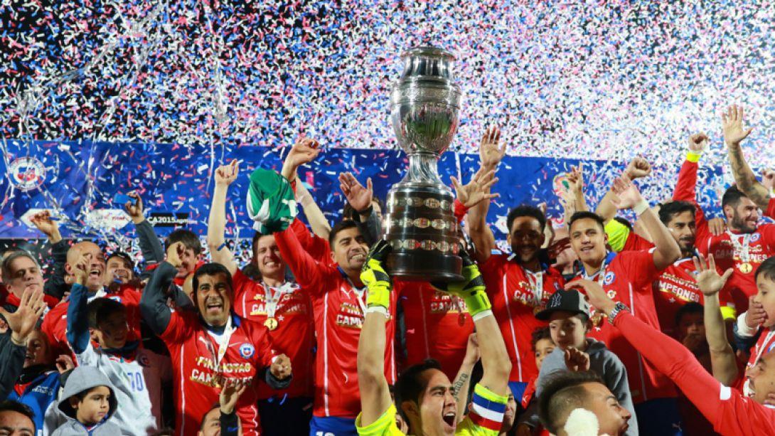 Resultado de imagen para chile campeon copa america 2015