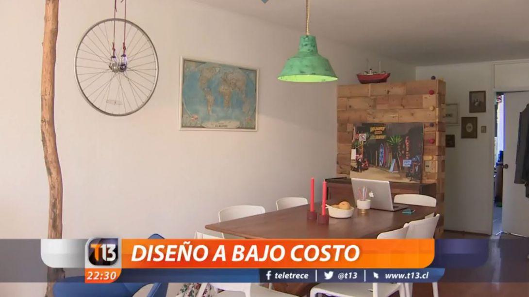 Decoracion A Bajo Costo La Democratizacion Del Diseno Tele 13 - Videos-de-decoracion-de-interiores