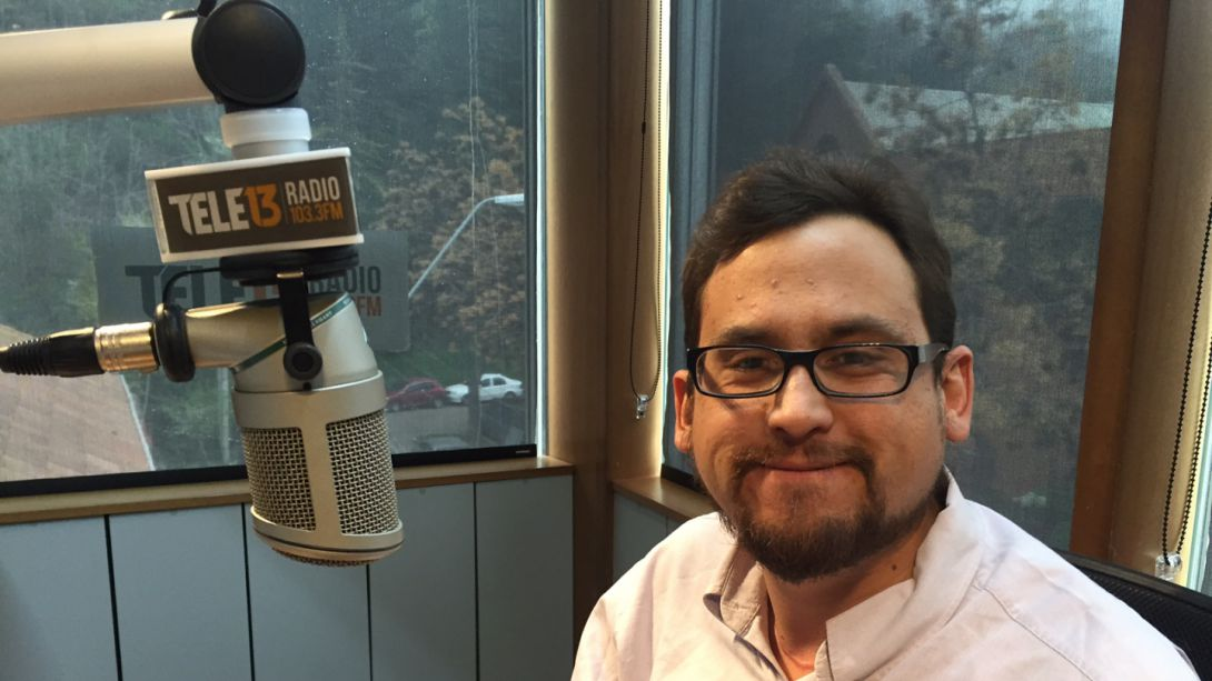 [Audio] Luis Valdés detalló documental Latente en Tele13 Radio