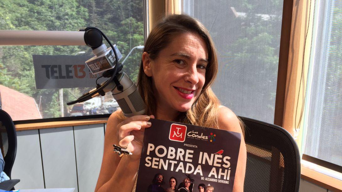 [Audio] Patricia López detalló obra Pobre Inés sentada ahí