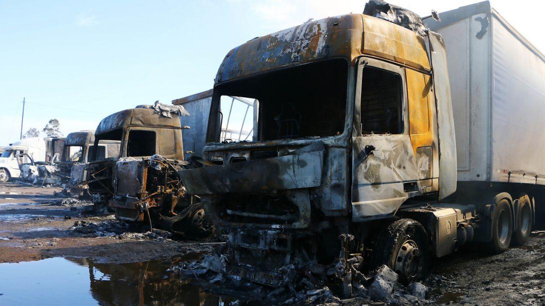 Gobierno se querellará por nuevo ataque incendiario en La Araucanía