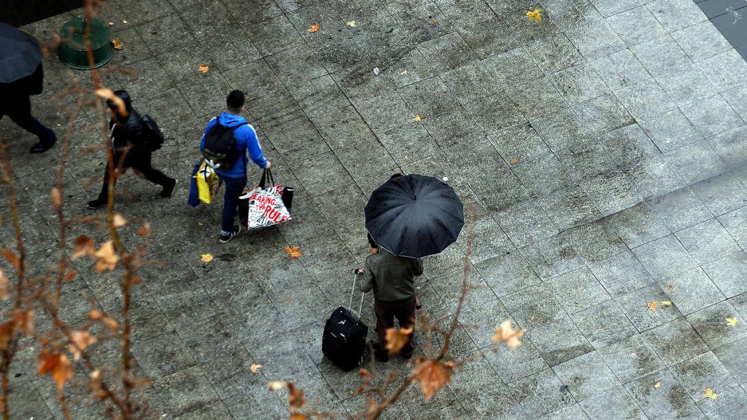 Temperaturas caerían abruptamente después de las lluvias en la Región Metropolitana