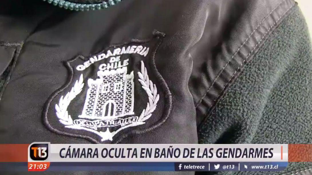 Video Camara Oculta En Bano De Las Gendarmes Tele 13